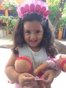 Yael, filha de Petria Chaves. Foto: Acervo pessoal Petria Chaves.